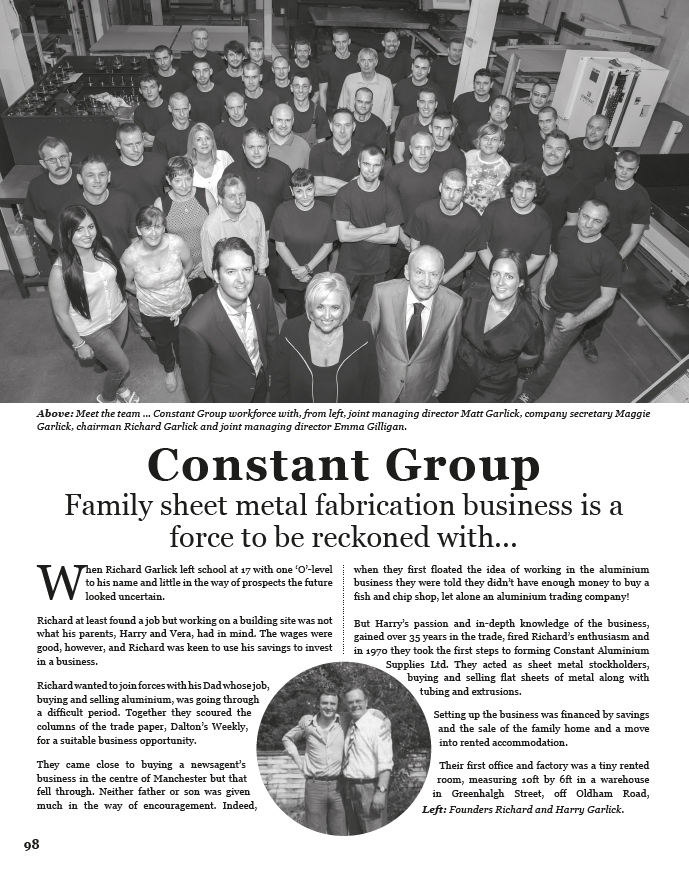 Constant Group Book