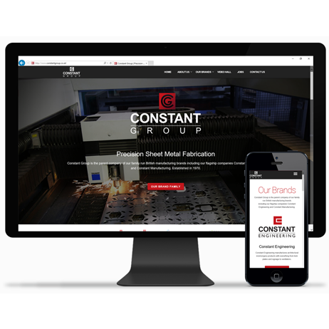 Constant Group Ltd launched it's first Group website