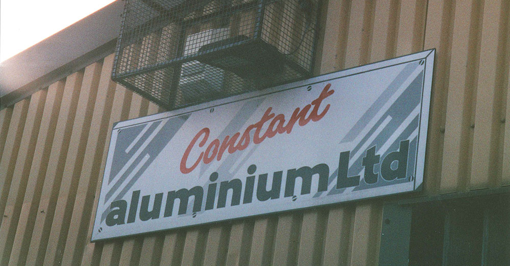 Established as Constant Aluminium Supplies Ltd