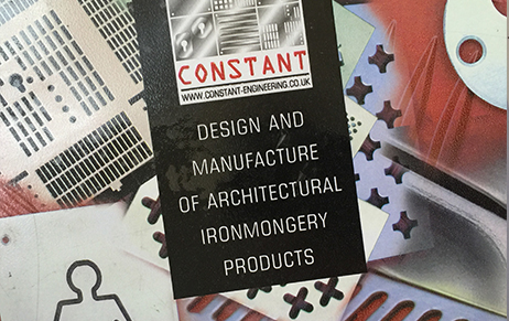 Constant Engineering's first brochure was launched