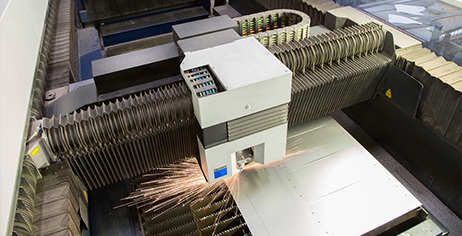 Trumpf laser cutting machine installed