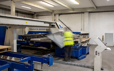 Trumpf TruPunch 5000 installed